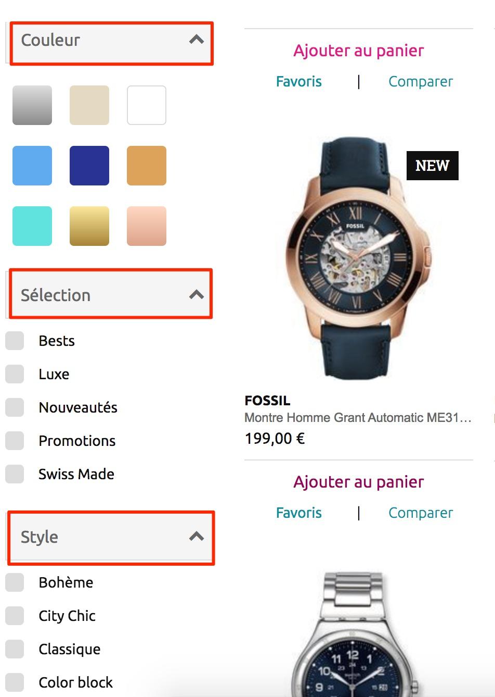 amazon montre mots clés e-commerce seo