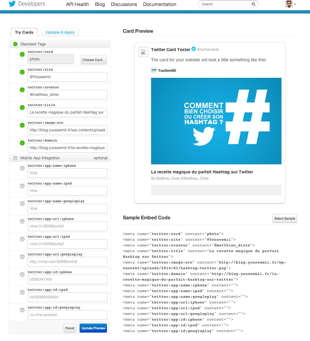 twitter card generator seo smartkeyword