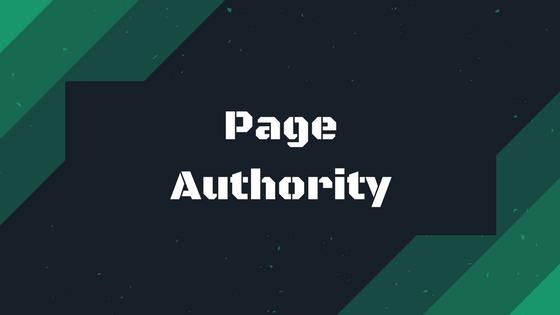 page authority autorité de page référencement naturel seo