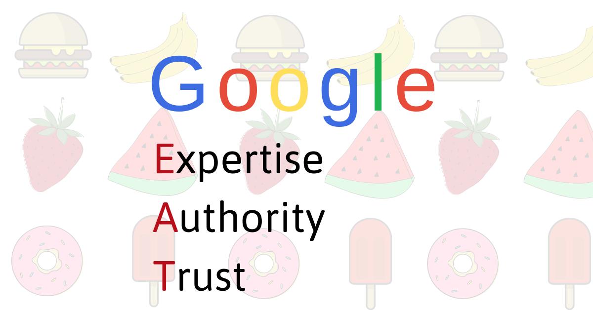 Panda- Google-EAT