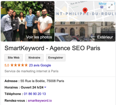 SmartKeyword - Agence SEO Paris