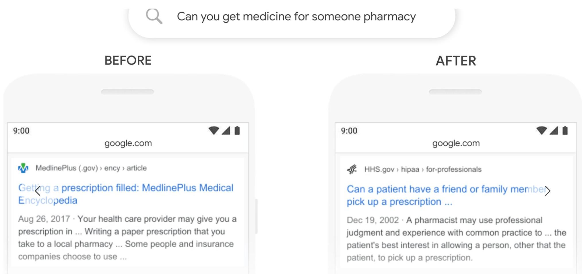 google-bert-exemple-pharmacie