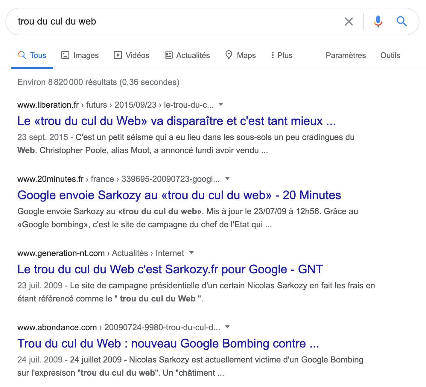 google-bombing-trou-du-cul-du-web